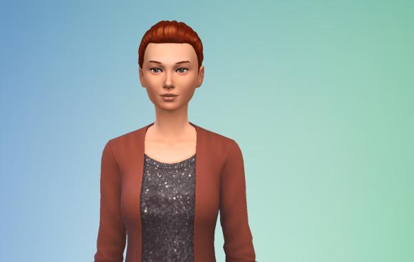 Sims 4 Outdoor Leben Langhaarschnitt 3 vorne