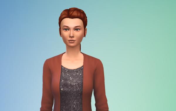 Sims 4 Outdoor Leben Langhaarschnitt 4 vorne