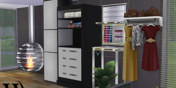 4Sims 4 Modernes Schlafzimmer 3