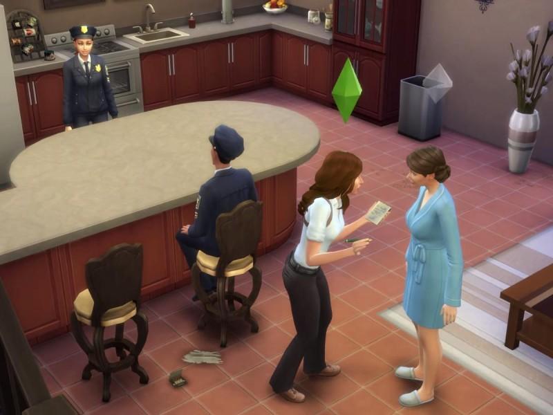Die Sims 4 Erweiterung  Augenzeugen befragen 2