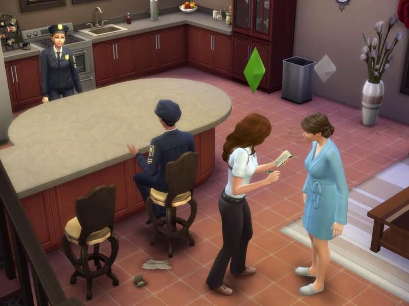 Die Sims 4 Erweiterung  Augenzeugen befragen