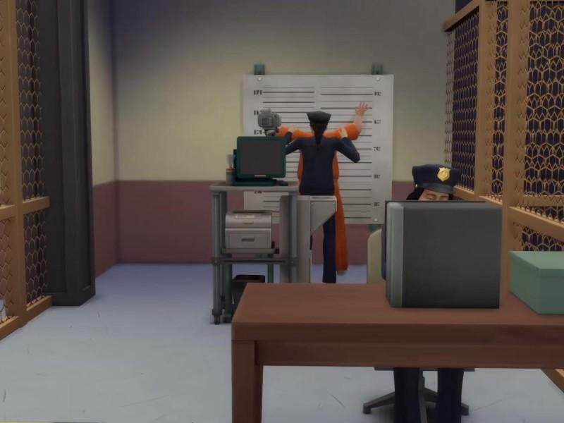 Die Sims 4 Erweiterung Einblick in das Polizeirevier 2