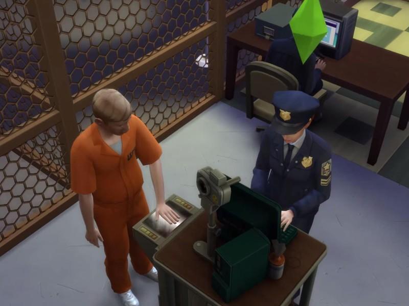Die Sims 4 Erweiterung Fingerabdrücke scannen 2