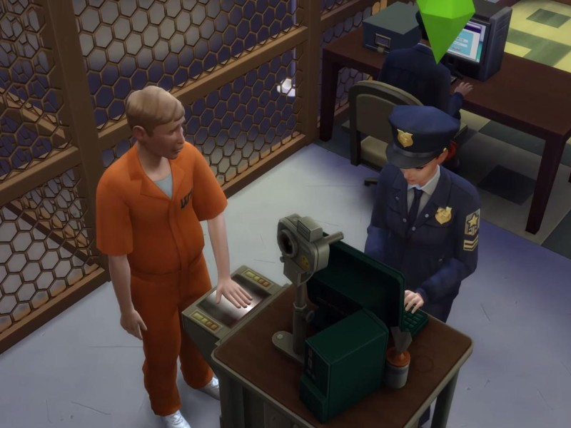 Die Sims 4 Erweiterung Fingerabdrücke scannen 3