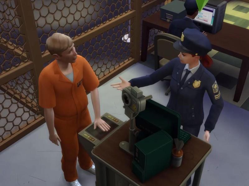 Die Sims 4 Erweiterung Fingerabdrücke scannen 4