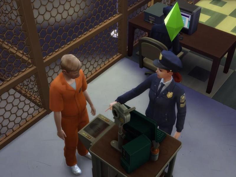 Die Sims 4 Erweiterung Fingerabdrücke scannen