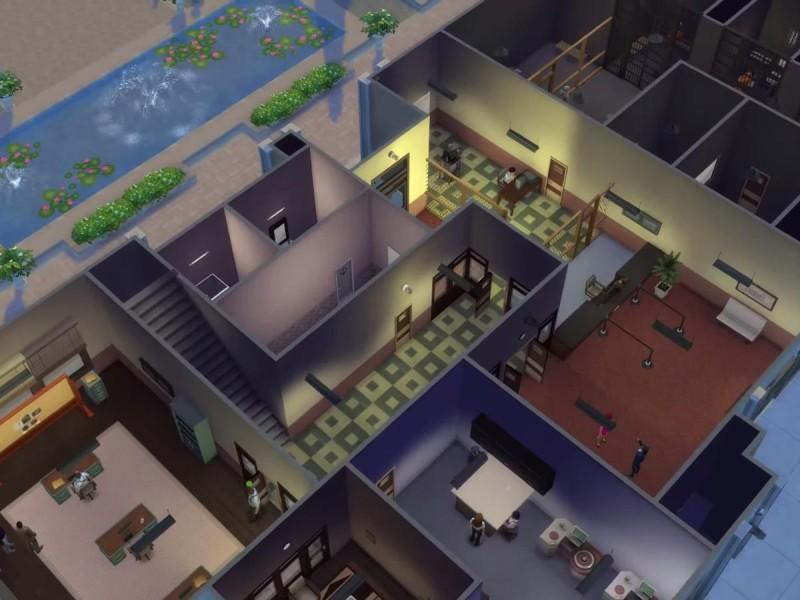 Die Sims 4 Erweiterung Polizeirevier Überblick