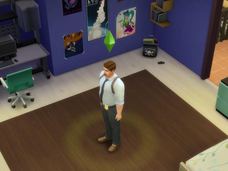 Die Sims 4 Erweiterung  Spurensuche