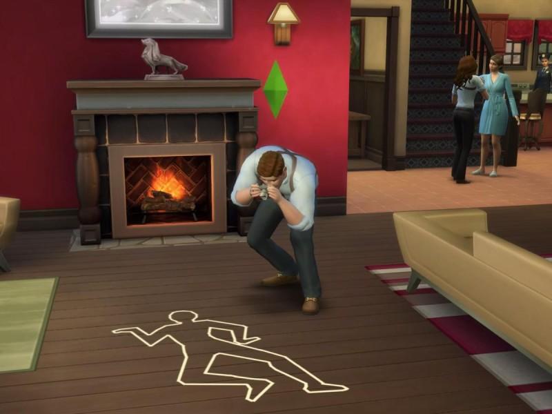 Die Sims 4 Erweiterung Tator Foto machen 2