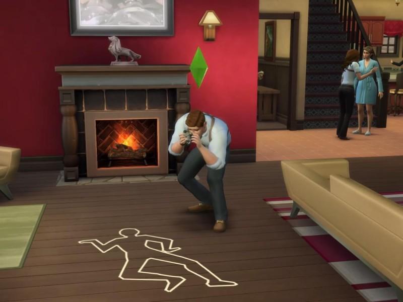 Die Sims 4 Erweiterung Tator Foto machen