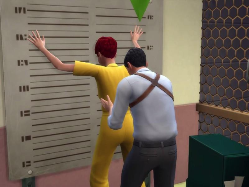 Die Sims 4 Erweiterung Verbrecher einbuchten