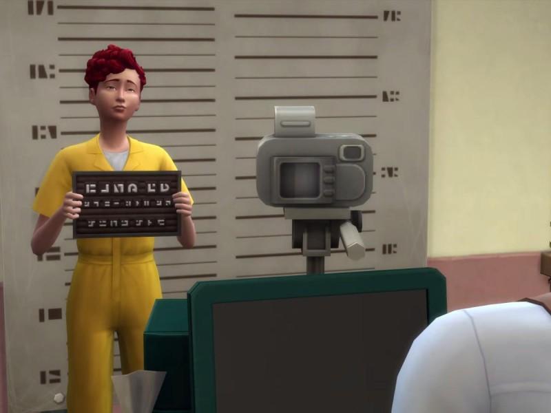 Die Sims 4 Erweiterung Verbrecherfoto machen 2