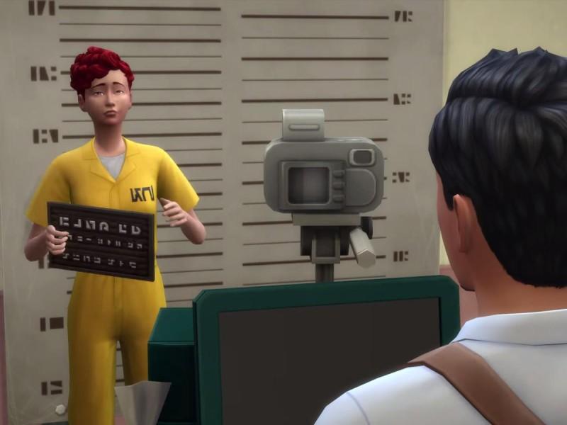 Die Sims 4 Erweiterung Verbrecherfoto machen