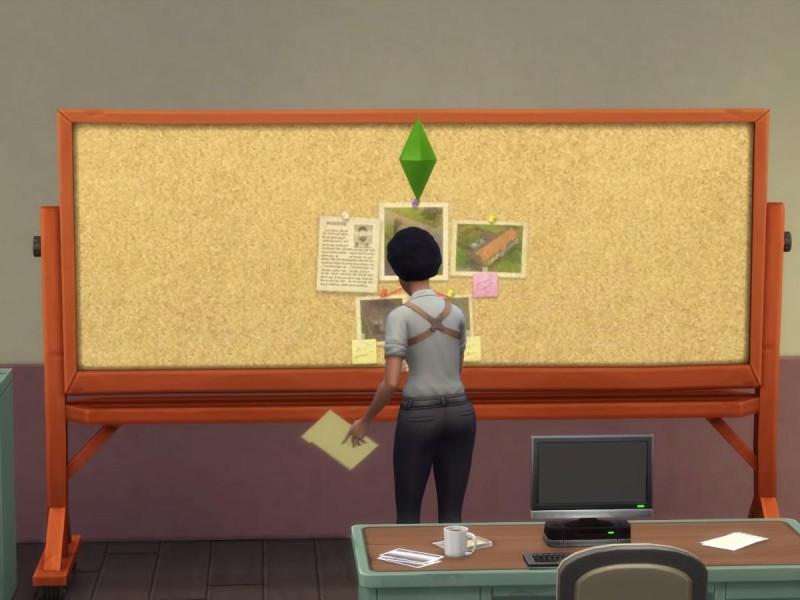 Die Sims 4 Erweiterung Verbrecherkarte