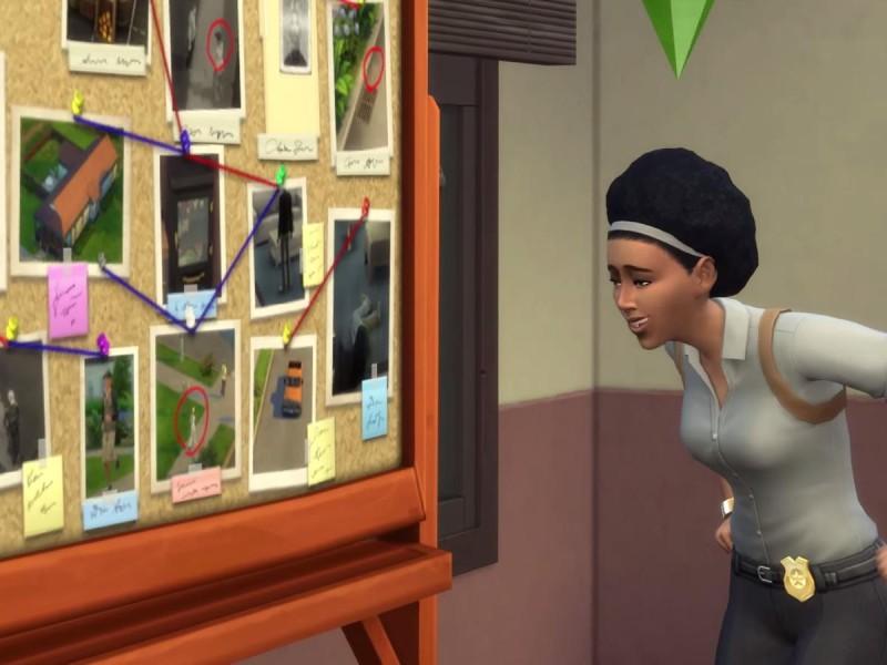 Die Sims 4 Erweiterung Verbrecherkarte Kombinieren
