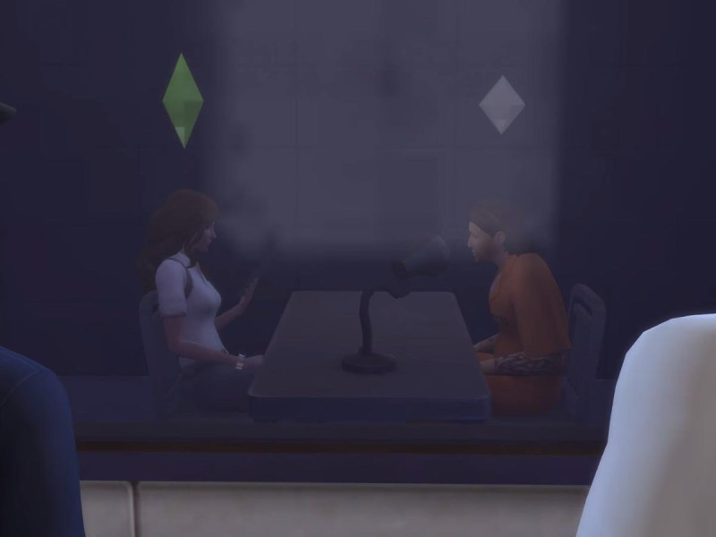 Die Sims 4 Erweiterung Verhör
