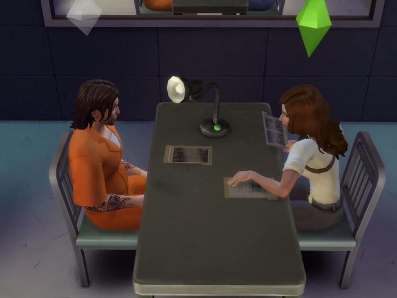 Die Sims 4 Erweiterung Verhörstrategien