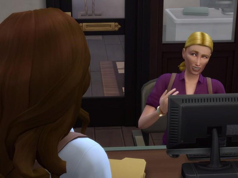 Die Sims 4 Erweiterung mit Kollegen Kontakt knüpfen