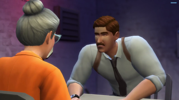 Polizist Sims 4 Addon