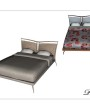 Schlafzimmer mediterran Bett