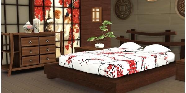 Sims 4 Schone Downloads Schlafzimmer Fur Parchen Download Asiatisches 1