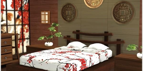 Sims 4 Download Asiatisches Schlafzimmer 2