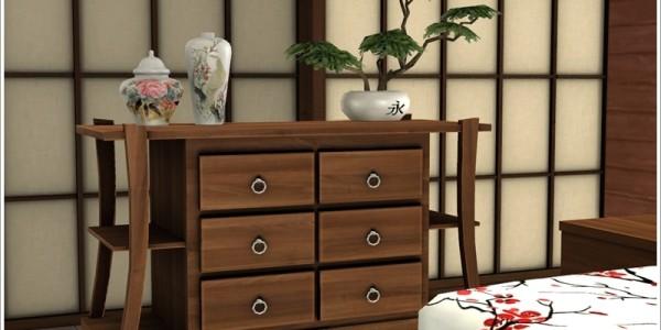 Sims 4 Download Asiatisches Schlafzimmer 3