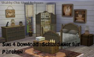 Sims 4 Download Schlazimmer für Pärchen