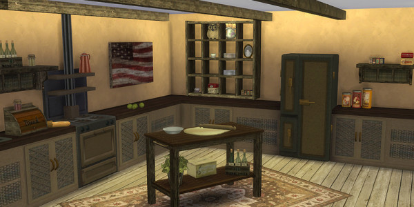 Sims 4 Download Shabby Chic Küche 2