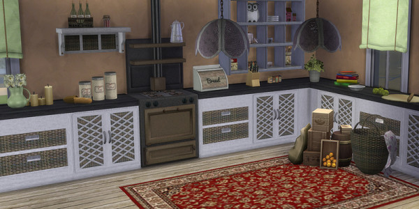 Sims 4 Download Shabby Chic Küche 3
