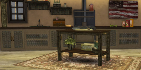 Sims 4 Download Shabby Chic Küche