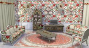 Sims 4 Download Shabby Chic Wohnzimmer 3