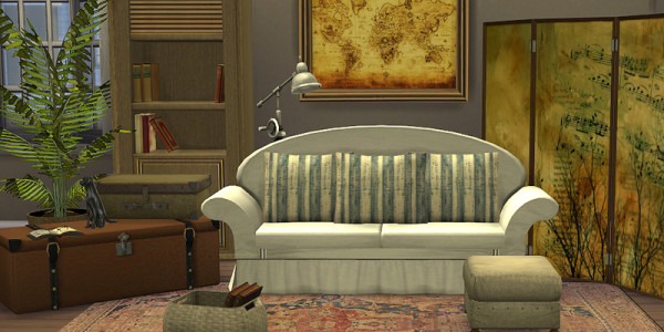 Sims 4 Download Shabby ChicWohnzimmer 2.3