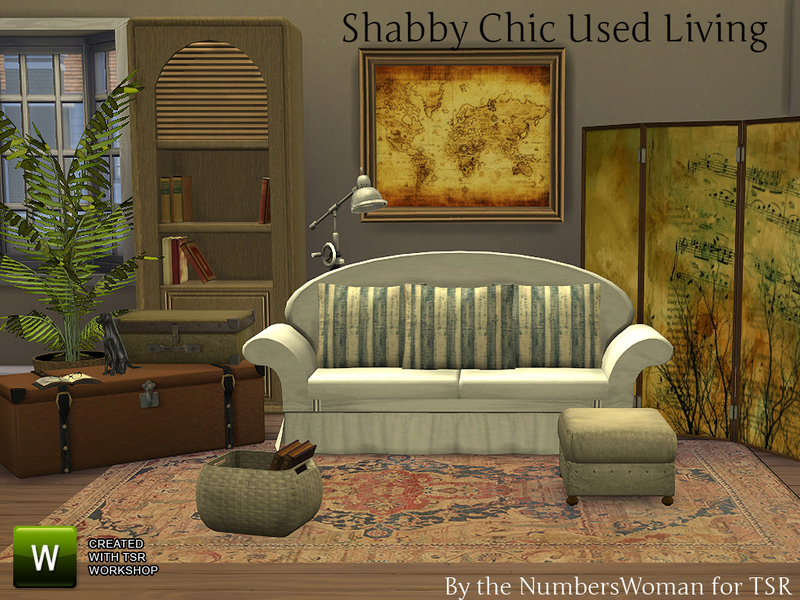 Shabby Chic Sims 2 submited images.