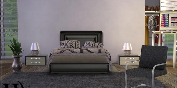 Sims 4 Modernes Schlafzimmer