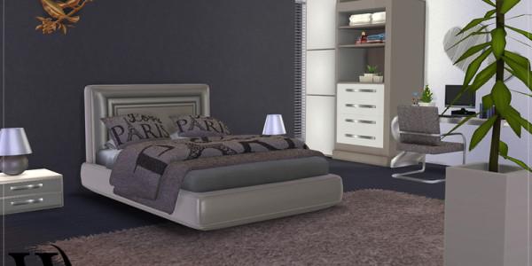Sims 4 Modernes Schlafzimmer 3
