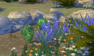 Sims 4 Pflanzen in Outdoor Leben
