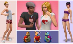 Sims 4 Valentine InhaltVorschau