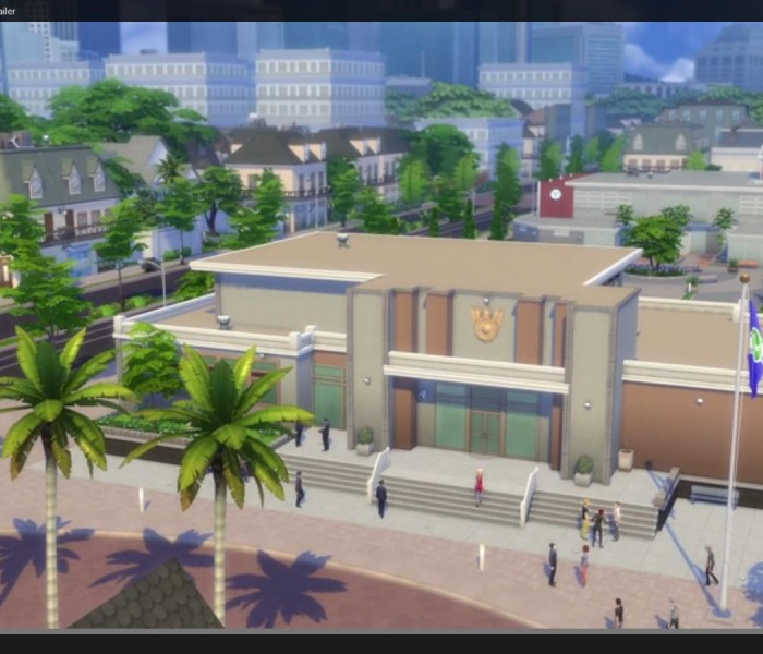 Sims 4 erstes Addon Trailer 1