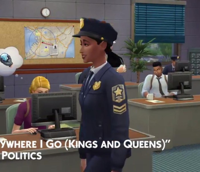 Sims 4 erstes Addon Trailer 2