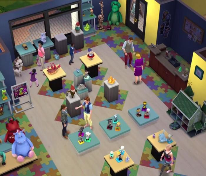Sims 4 erstes Addon Trailer 55