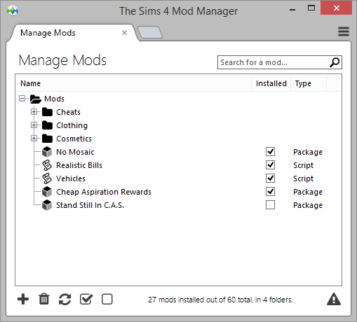 Mod Manager Version 4