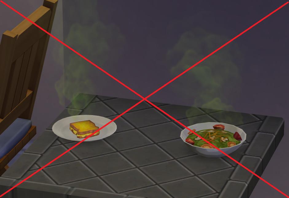 Sims 4 Mod langsames/ kein Verderben von Essen und Geträne