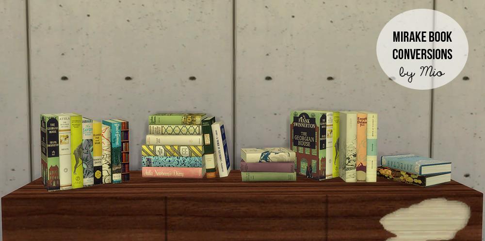 Sims 2 Downloads von Mirake für Sims 4
