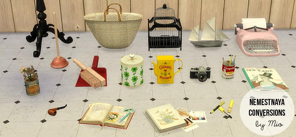 Sims 2 Downloads von Nemestnaya für Sims 4