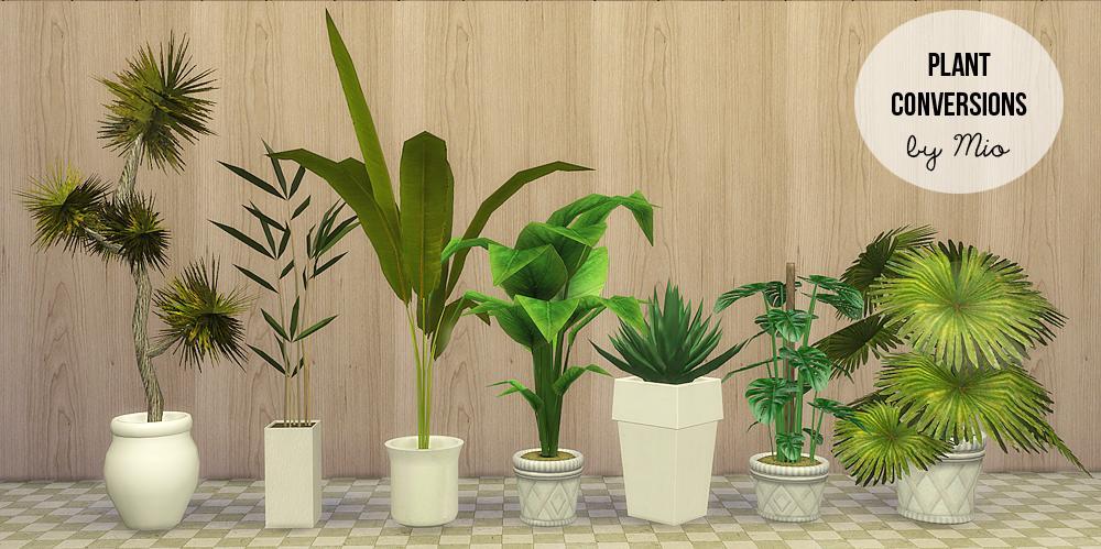 Sims 2 Downloads Pflanzen für Sims 4