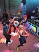 Sims 4 Zeit für Freunde Discothek